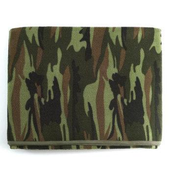 Rothco Camouflage Fleece Blankets, Woodland Camo
