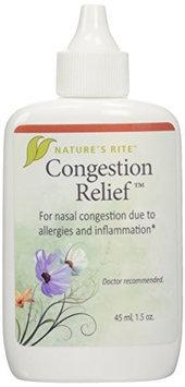 Ture's Rite Congestion Relief Natures Rite 1.5 oz Liquid