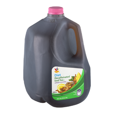 Ahold Diet Decaffeinated Iced Tea Lemon Flavor