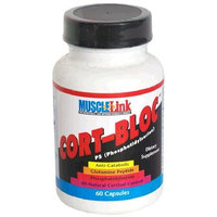 Muscle-Link Cort-Bloc Capsules, 60-Count Bottle