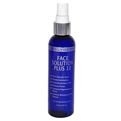 Gly Derm Face Solution 10, 4 oz