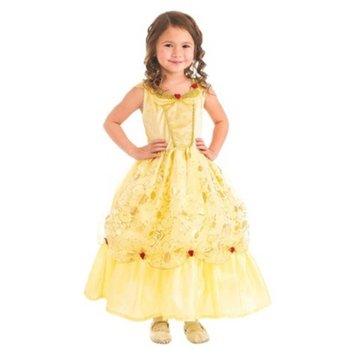 Little Adventures Yellow Beauty Dress M