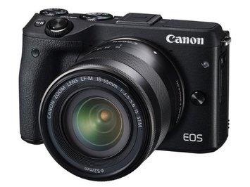 Canon EOS M3 Body w/ EF-M 18-55mm Lens
