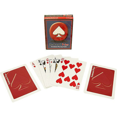Trademark Poker Deck of Cards - Red