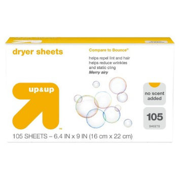 up & up Free & Clear Dyer Sheets 105 ct