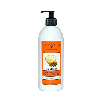 South of France Body Wash,Shea Butter 16 oz