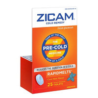 Zicam Cold Remedy Plus RapidMelts