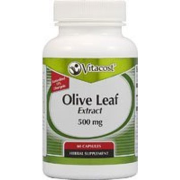 Vitacost Brand Vitacost Olive Leaf Extract - Standardized -- 500 mg - 60 Capsules