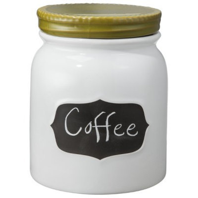 Threshold Stoneware Chalkboard Canister (Large)