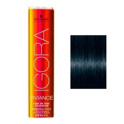 Schwarzkopf Igora Viviance Tone On Tone Coloration - 1-1 Blue Black