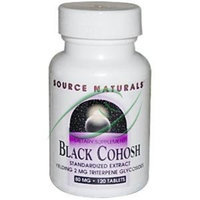 Source Naturals Black Cohosh Extract, 120 Tablets
