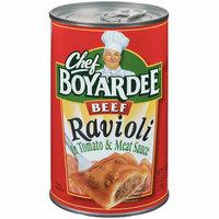 Chef Boyardee : In Tomato & Meat Sauce Beef Ravioli
