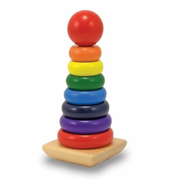 Melissa and Doug Rainbow Stacker Ages 2 and up