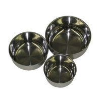 A & E Cage SS5 Stainless Steel 5 In. Bowls