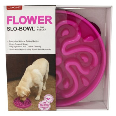 Kyjen Company Inc. Ecom Pet Bowl Dog Games Plastic
