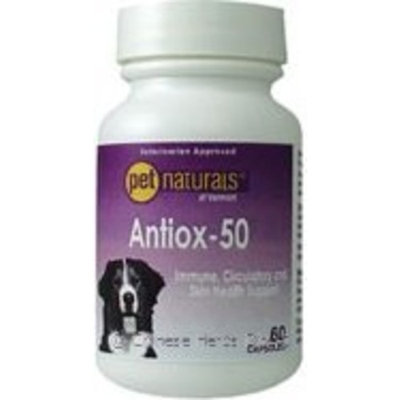 Pet Naturals of Vermont Antiox-50 For Dogs 60 Capsules