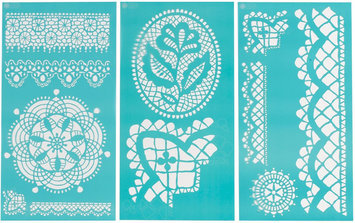 Plaid:craft Martha Stewart Crafts® Large Stencils - Cathedral Lace