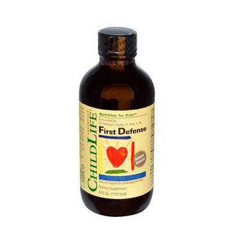 Childlife-Nutrition For Kids B58518 Childlife First Defense Immune Formula -1x4oz