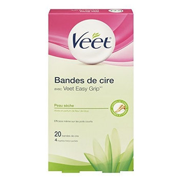 Veet Cold Wax Hair Removal Strips, Normal To Dry Skin Formula