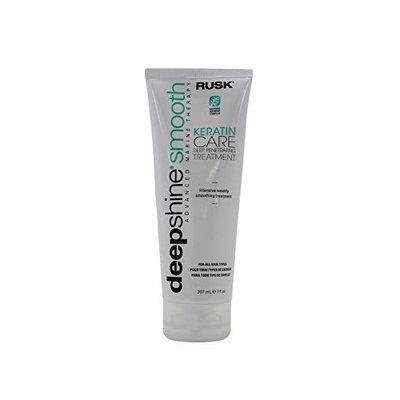 Rusk Deepshine Smooth Keratin Care Deep Penetrating Treatment 7 oz.