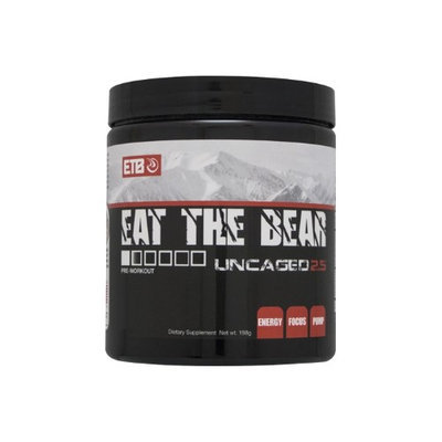 Eat The Bear Uncaged 2.5, Pink Lemonade, 30 Servings