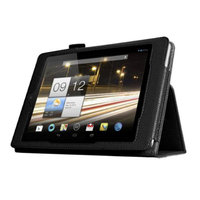 Black Double-Fold Folio Case for Acer Iconia A (86271)