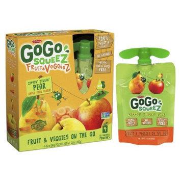 GoGo SqueeZ GoGo squeeZ Fruit & VeggieZ Zippin' Zingin' Pear