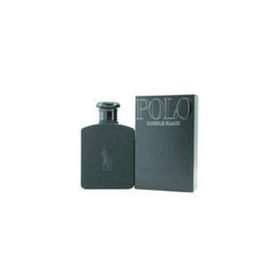 Ralph Lauren Polo Double Black By  Edt Spray 2. 5 Oz