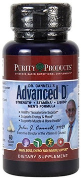 Purity Products Dr. Cannell's Advanced D Men's Formula