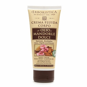L'Erboristica Body Cream with Sweet Almond Oil
