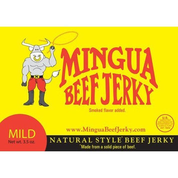 Mingua Mild Beef Jerky 4 Pack (4-3.5oz Packages * 14oz total)