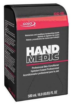 GOJO 8242-06-BRZ00 Hand Lotion, Unscented, White, Refill, PK6