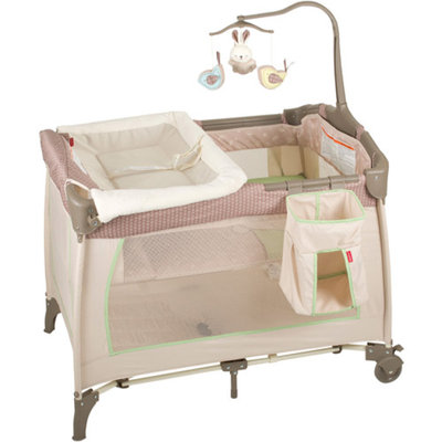 Baby Trend Fisher-Price Playard, Snugabunny