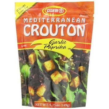 Osem Garlic Paprika Salad Crouton, 5.25-Ounce (Pack of 8)