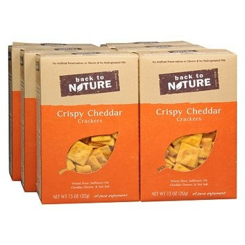 Back to Nature Crispy Crackers 6 Pack
