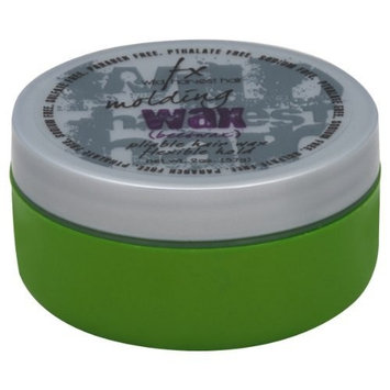 FX Wild Harvest Hair Molding Wax, Beeswax, Flexible Hold, 2 oz.