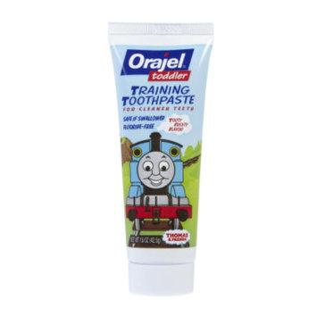 Orajel Toddler Training Toothpaste -Tooty Fruity 1.5 oz