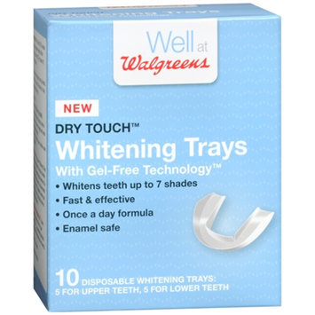 Walgreens Dry Touch Whitening Trays, 10 ea