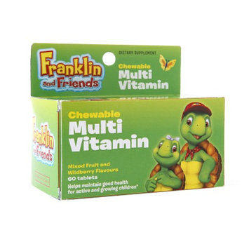 Treehouse Franklin and Friends Chewable Multivitamin, Tablets, Mixed Fruit & Wildberry, 60 ea