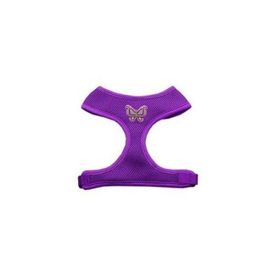 Mirage Pet Products 73-25 SMPR Purple Butterflies Chipper Purple Harness Small