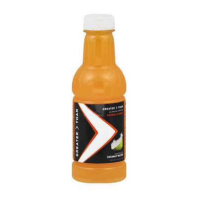 Greater Than Orange Mango Coconut Water Sports Drink