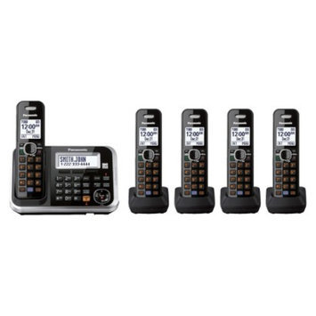 Panasonic DECT 6.0 Cordless Phone System (KX-TG6845B) with Answering