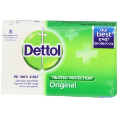 Dettol Soap, Original, 70 Gram Bars (Pack of 12)