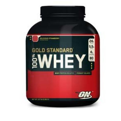 Optimum Nutrition 100% Whey Gold Strawberry 5Lb Protein