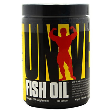 Universal Nutrition Fish Oil 100ct