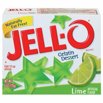 Jell-O : Lime Gelatin Dessert