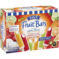 Edy's Orange & Cream/Raspberry & Cream/Lime & Cream Fruit Bars