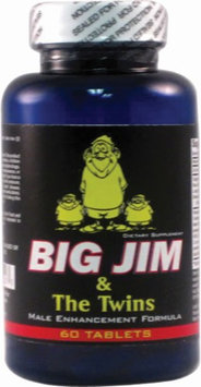 Big Jim & The Twins, 60 Tablets, MaritzMayer Laboratories