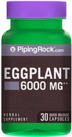 Piping Rock Eggplant Extract 6000mg 30 Capsules