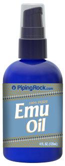 Piping Rock Emu Oil 100% Pure 4 oz Spray Bottle